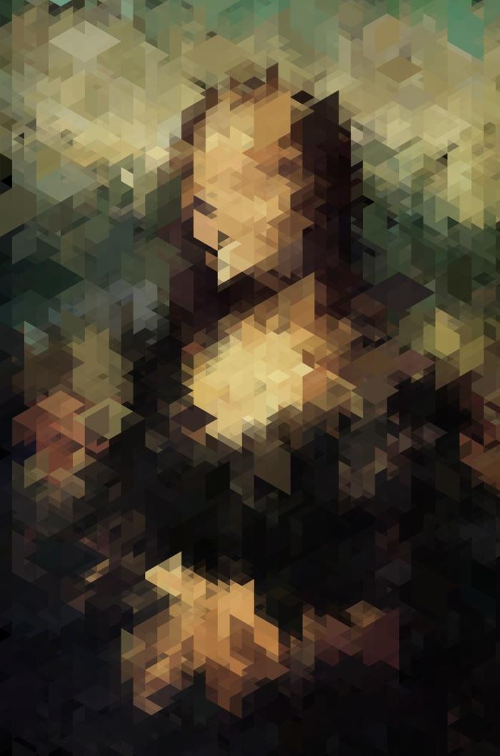 Panelscape Iconic - Mona Lisa