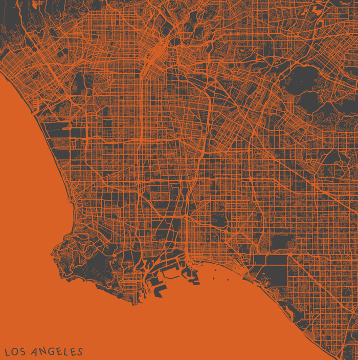 Los Angeles Map by Map Map Maps