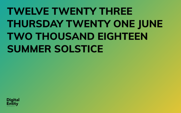 21 june Summer Solstice